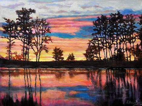Riverside Sunset by Eileen  Fong
