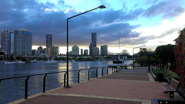 Riverwalk by Edwin Vincent