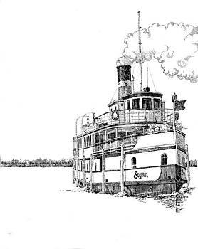 RMS Segwun Muskoka by Nola McConnan