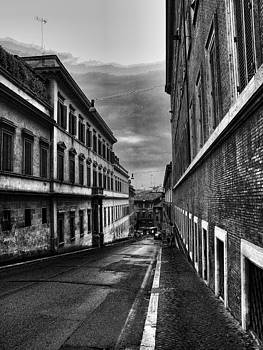 Road at Night by Oscar Alvarez Jr
