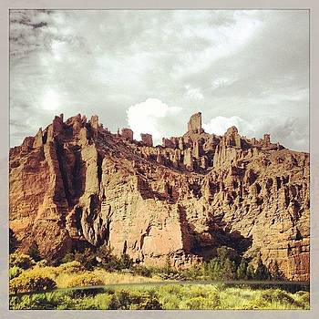 Road From #cody #wy  #mountains #cliffs by Greta Olivas
