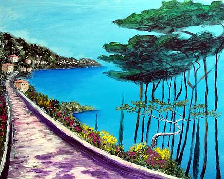 Road On The Riviera by Larry Cirigliano