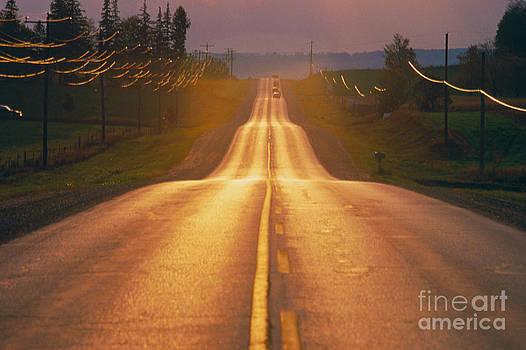 Ken Straiton - Road in Ontario Canada