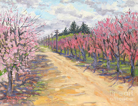 Road Through the Peach Orchards by Rhett Regina Owings