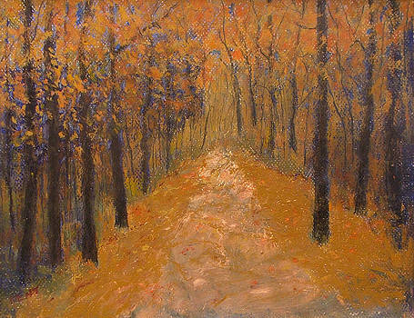Road Through the Woods by Kent Whitaker