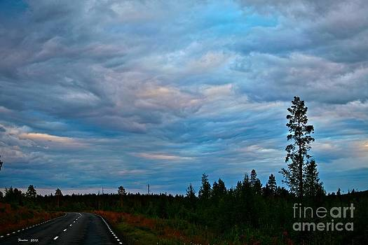 Road to blue . Midsummer Night Miracles. by  Andrzej Goszcz