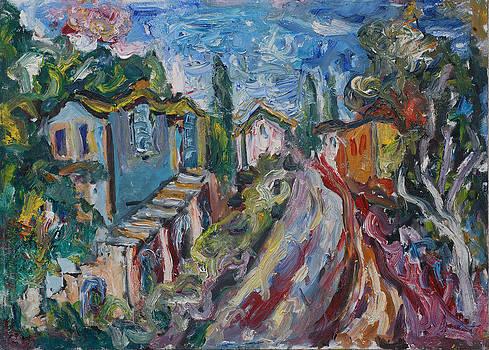 Road To Chela I by Borislav Djukanovic