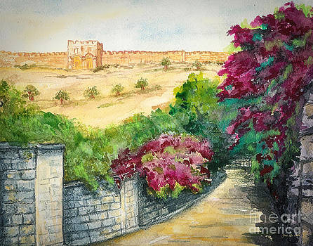 Road To Eastern Gate by Janis Lee Colon