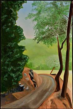 Road to the Farm by Gloria Cigolini-DePietro
