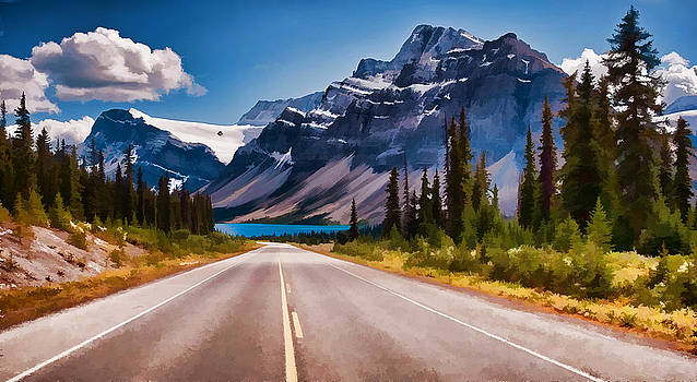 Road to the Lake by Jeff R Clow