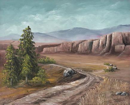 Darice Machel McGuire - Road To The Old Homestead