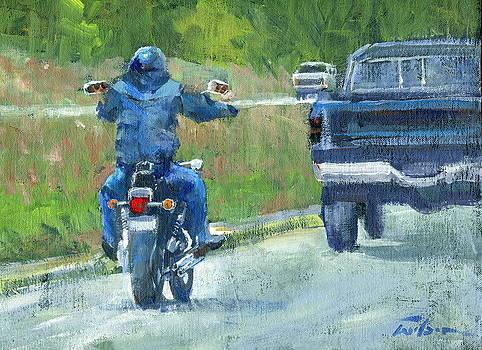 Road Warrior - Cruising by Ron Wilson