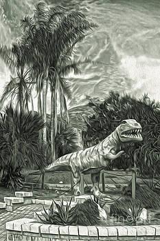 Gregory Dyer - Roadside Raptor - in duotone