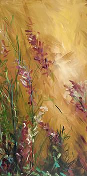 Roadside Floral I by Karen Ahuja