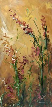 Roadside Floral II by Karen Ahuja