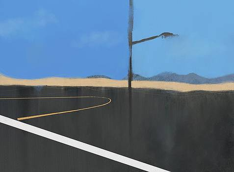 Roadtrip CA to OR Panel 1 by Phil Vance