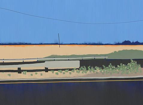 Roadtrip CA to OR Panel 4 by Phil Vance