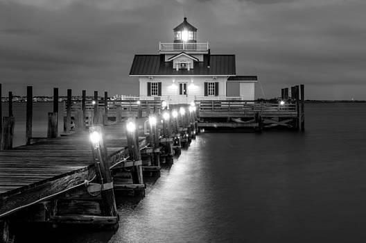 Roanoke Marsh Lighthouse by Dustin Ahrens