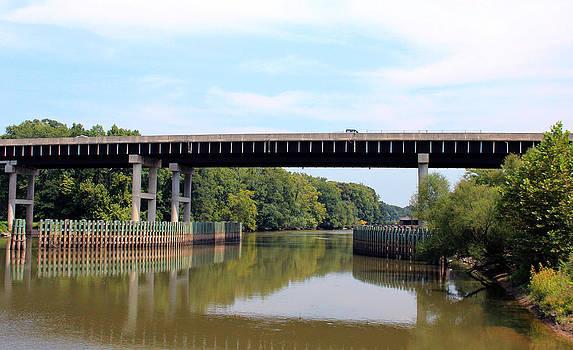 Roanoke River Bridge by Carolyn Ricks