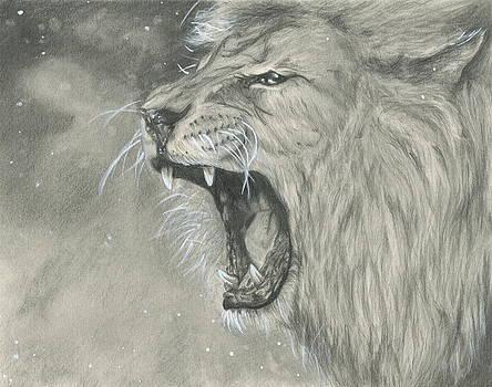 Roaring Lion by Raquel Ventura