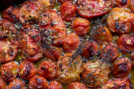 Roasted Cherry Tomatoes by Chris  Clark