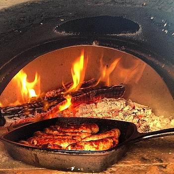 #roasting #sausage by Kurt Iswarienko