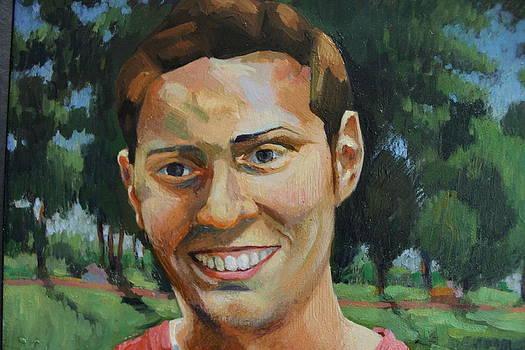 Robbie age 20 by David Ottinger