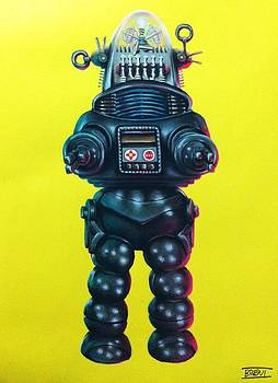 Robby the Robot by Brent Andrew Doty