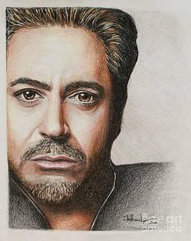 Robert Downey Jr. by Christine Jepsen