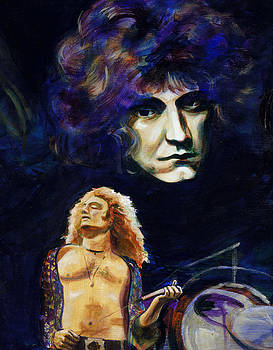 Robert Plant by Charles  Bickel