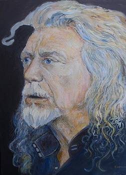 Robert Plant by Sandra Lytch