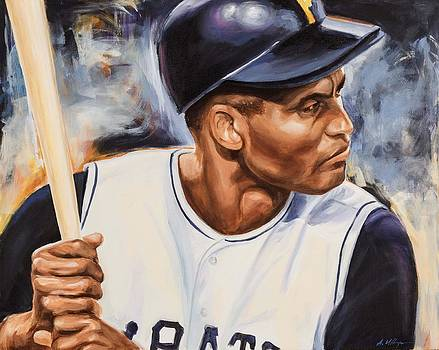 Roberto Clemente by Angie Villegas