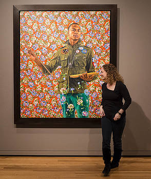 Frank Winters - Robin and Anthony of Padua by Kehinde Wiley