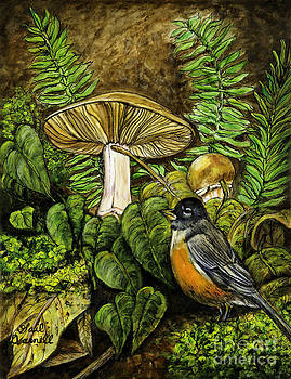 Robin in the Woods by Gail Darnell