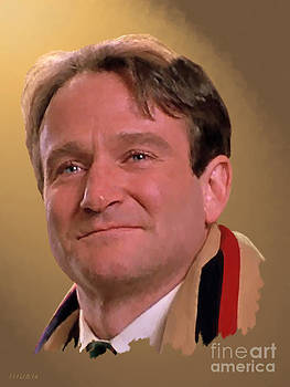 Robin Williams - Carpe Diem by Stephen Shub