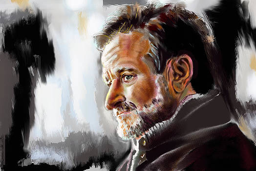 Robin Williams by Manju Chaudhuri