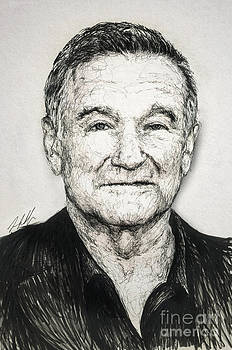 Robin Williams by Michael Volpicelli