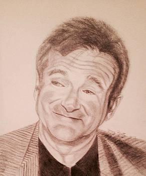Robin Williams by Nancy Pratt