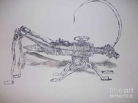 Robo Ant by Patries Van Dokkum