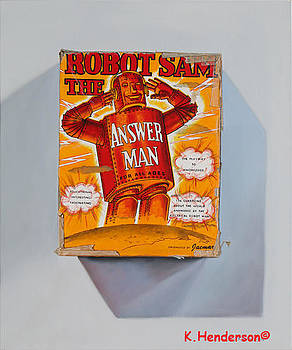Robot Sam The Answer Man by K Henderson by K Henderson