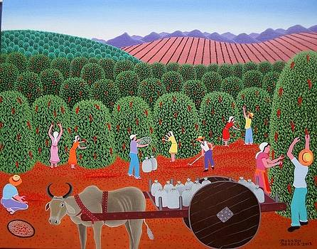 Robson Barros Tema Carro De Boi Medida 50x40  by Naifjunior Naifjunior