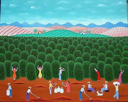 Robson Barros Tema Fazenda Santa Monica Medida 50x40  by Naifjunior Naifjunior
