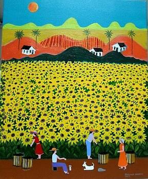 Robson Barros Tema Girasois Medida 40x50 by Naifjunior Naifjunior