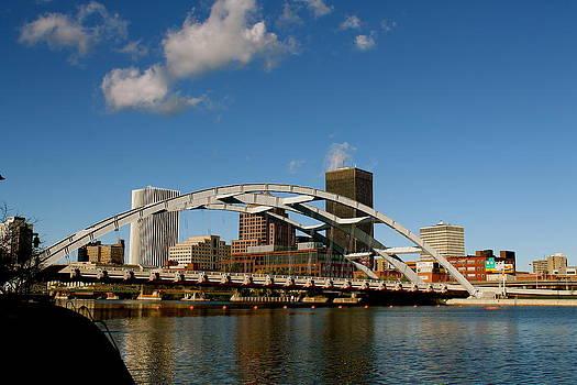 Rochester Skyline by Judd Connor