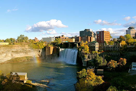 Rochester Upper Falls by Judd Connor