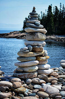 Rock Cairn at Wonderland by Quin Bond