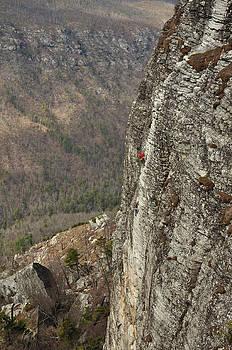 Rock Climbing Shortoff Mountain by Adam Paashaus