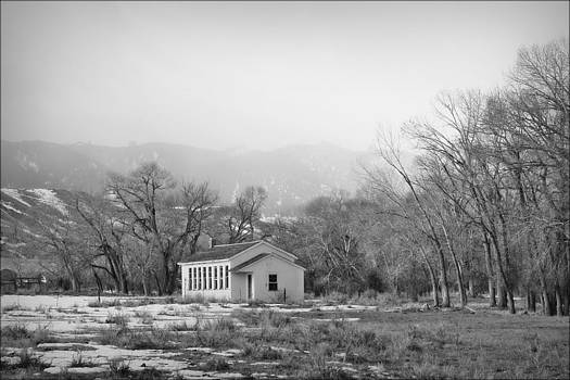 Rock Creek School House by Big Horn  Photography