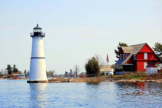 Linda Rae Cuthbertson - Rock Island Lighthouse