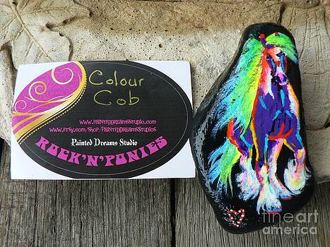 Rock 'N' Ponies - Colour Cob  by Louise Green